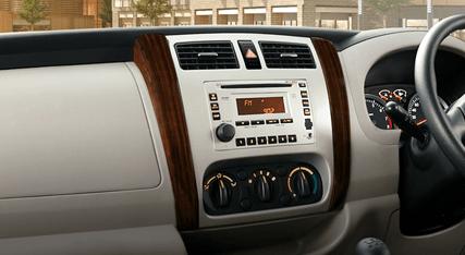 Wooden Panel Dashboard