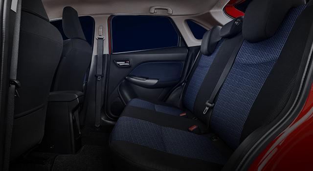 60 40 Rear Seatback