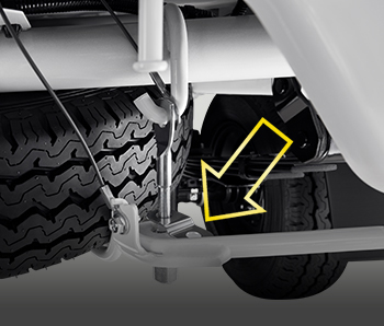 Retainer Spare Tire Carrier