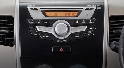 Integrated Audio Panel