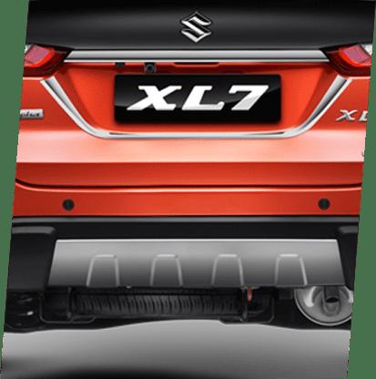 Tailgate Garnish Chrome License Garnish Chrome (Alpha) Garnish Rear Bumper Lower