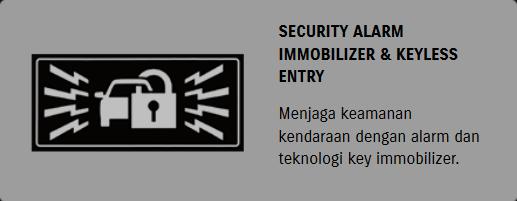 Security Alarm Immobilizer & Keyless Entry